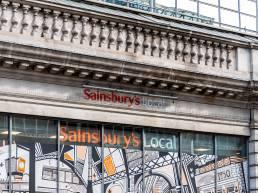 Sainsburys Footfall Declines Q1 2020