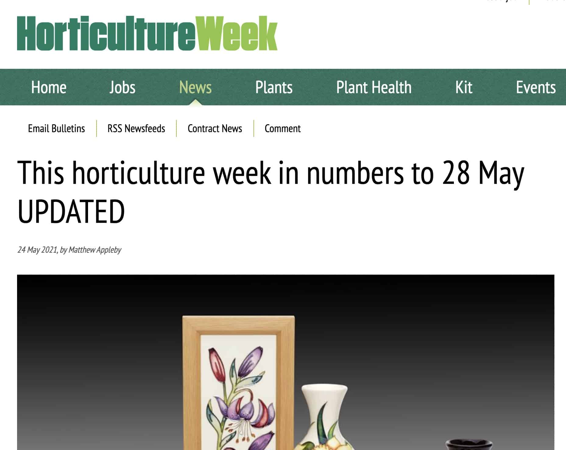 Horticulture Week Huq Industries Data