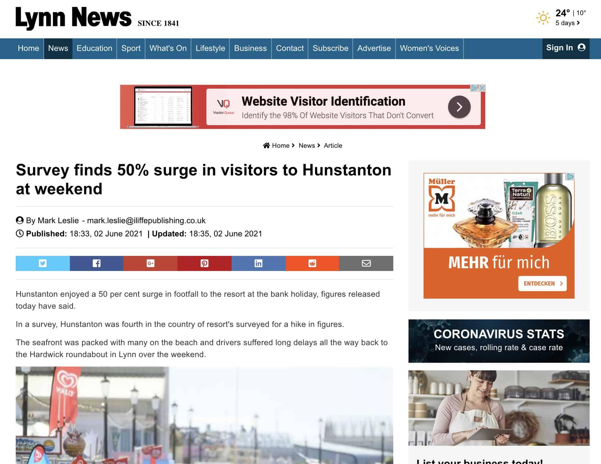 Lynn News - Huq Industries